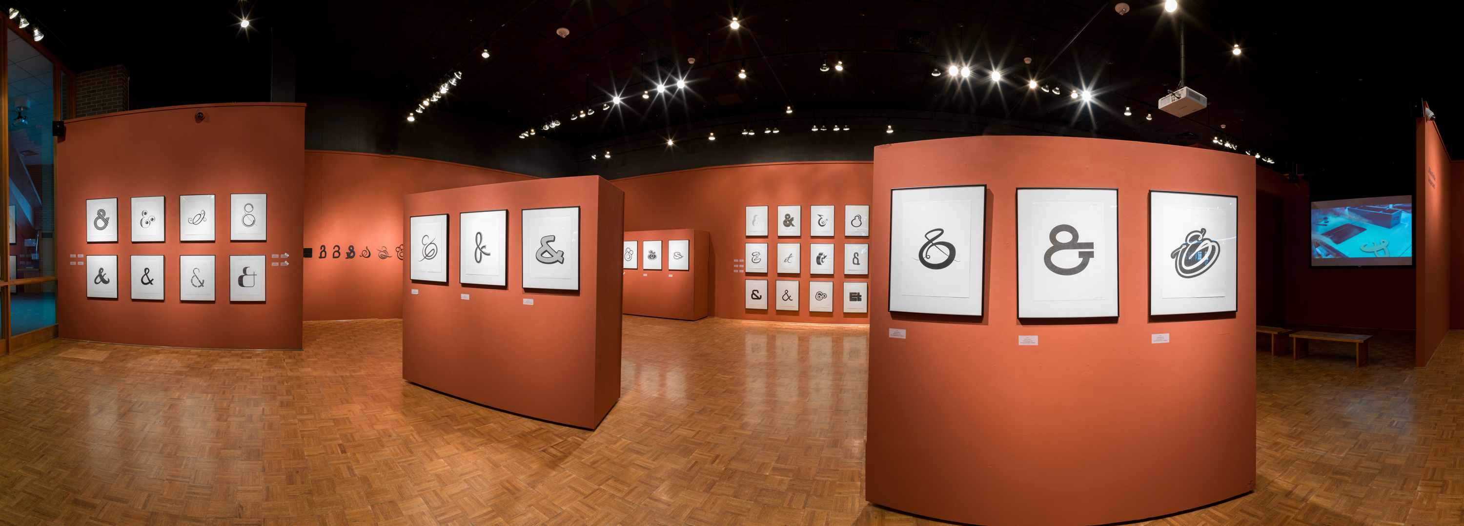 Panoramic Shot of Carlsten Gallery